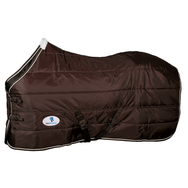 Equiforce Thrifty II Stable Rug. Brown.