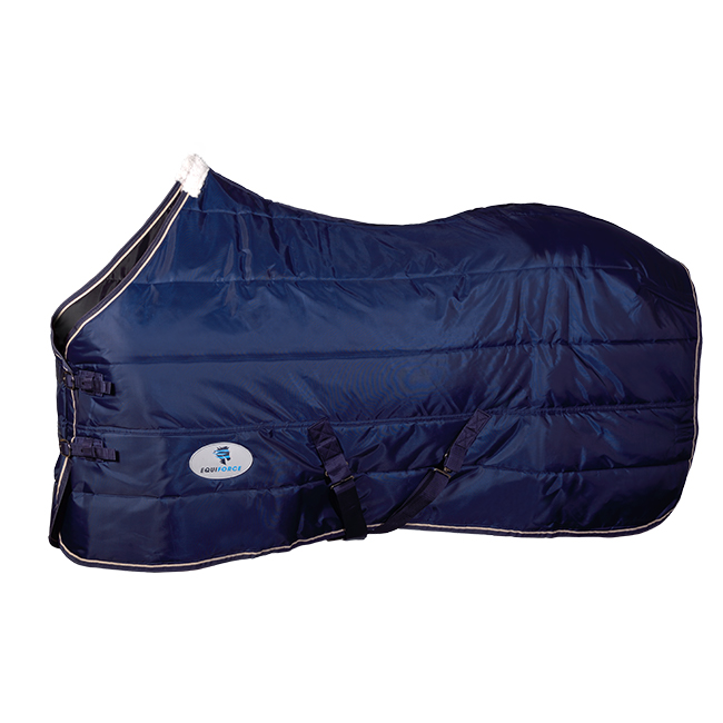 Equiforce Thrifty II Stable Rug. Navy.