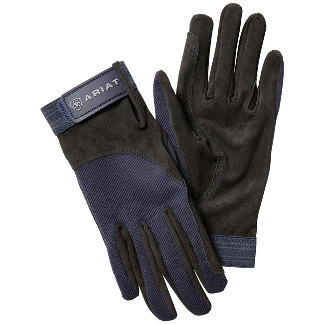 Ariat Tek-Grip Gloves. Navy.