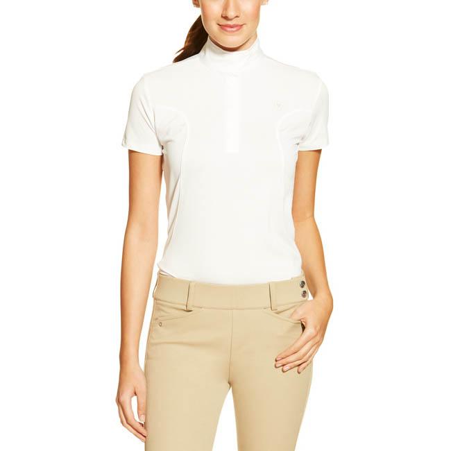 Ariat Ladies Aptos Show Shirt. White.