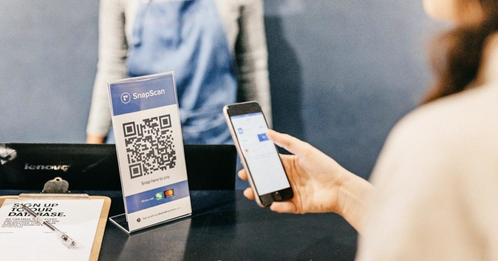 Contactless payments with SnapScan