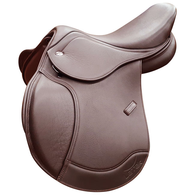 Letek Pony Jumping Saddle. Brown.