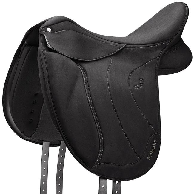 Wintec Lite D-Lux Dressage Hart Saddle. Black.