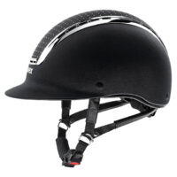 Uvex Suxxeed Delight Helmet. Black and Silver.