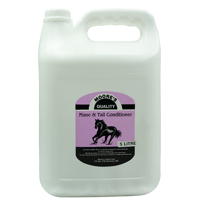 Moores Mane And Tail Spray Conditioner 5l.