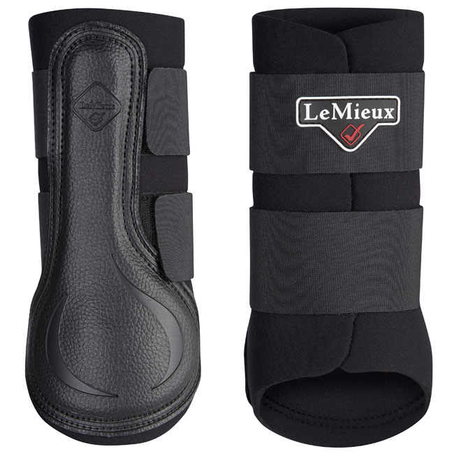 Lemieux Grafter Brushing Boots - SC21. Black.