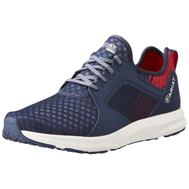 Ariat Mens Fuse Team Sneakers - SS21. Navy.