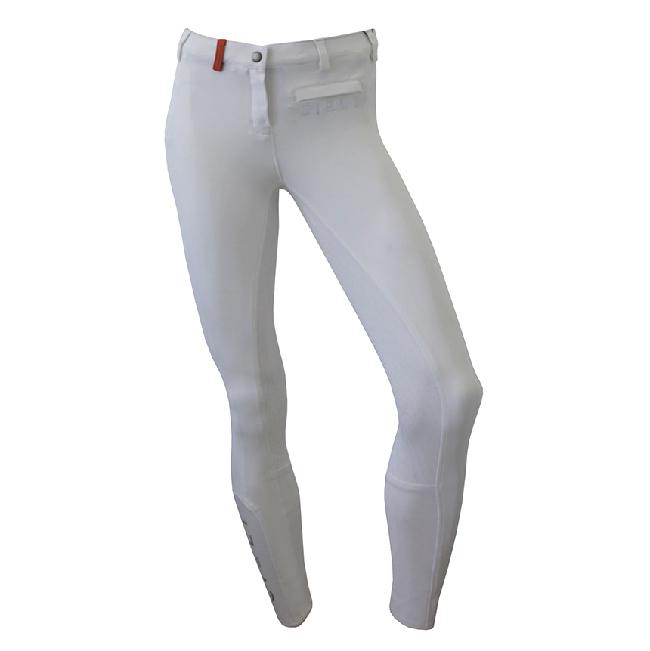 CIELI Ladies Miami Full Seat Breeches - White Front
