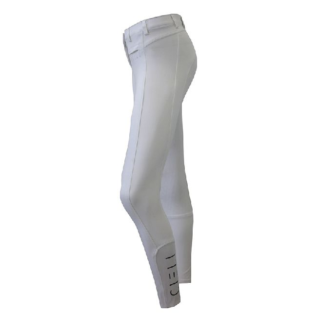 CIELI Ladies Miami Full Seat Breeches - White Left