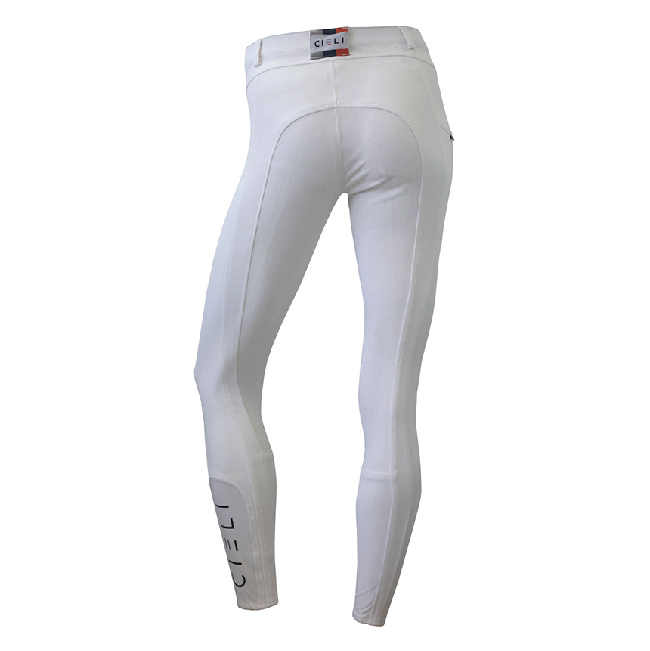 CIELI Ladies Miami Full Seat Breeches - White Back