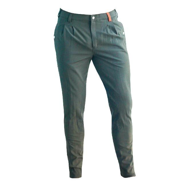 Cieli Mens Miami Breeches - Olive Grey Front