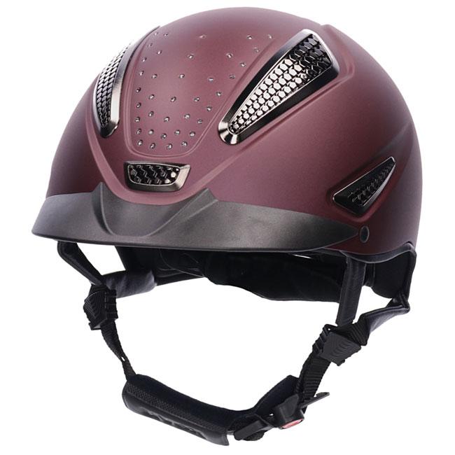 Uvex Perfexxion II Grace Helmet. Burgundy.