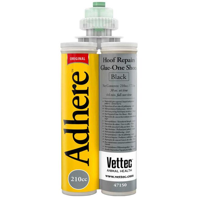 Vettec Equi-thane Adhere Black 210cc