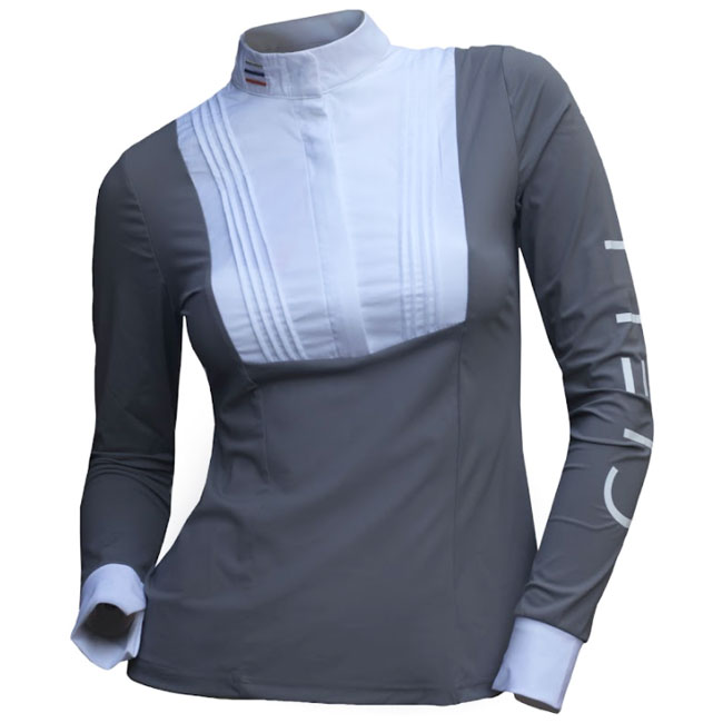 Cieli Ladies Isabella Long Sleeve Show Shirt